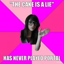 The Cake is a Lie - a meme within a meme