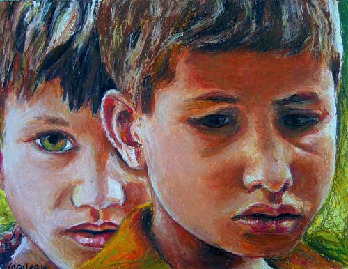 Painting by Sarah Galea
